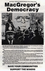 Advertisement produced by the south Wales NUM (MuseumWales) Tags: community mine union protest police labour conflict coal scab struggle picket nationalmuseumwales minersstrike