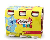 Yoplait Kids Strawberry Banana
