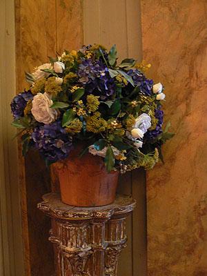 bouquet de fleurs à Jacquemart andré.jpg