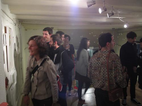 Inauguración La expo de Vicenta