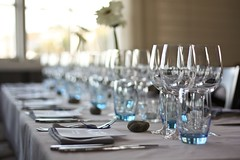 Nordic wedding setting (Mats Mattsson) Tags: wedding party glasses drinking knife fork reception nordic setting tablesetting cutlery gettyimagesfinlandq1