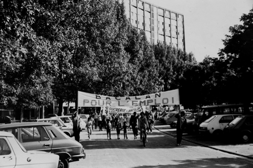 La raffinerie de sucre rue Achard a fermé ses portes en 1984. Les habitants, révoltés, sont sortis dans les rues cette année-là. Lusine employait 500 personnes. Photo DR