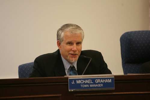 Front Royal Town Manager J. Michael Graham was terminated by town council Sept. 27.