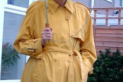 1k - Cloud Nine - 39e (Silver Linings) Tags: mac rubber raincoat rainwear rubberised