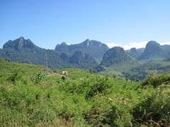 Scenery en route to Vang Vieng
