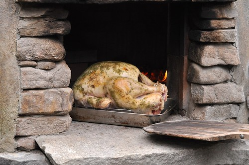 Thanksgiving Turkey in a Pizza Oven