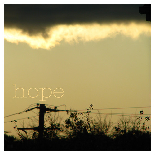 hope {out my window}