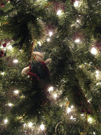 Lovely Christmas Tree Fakery