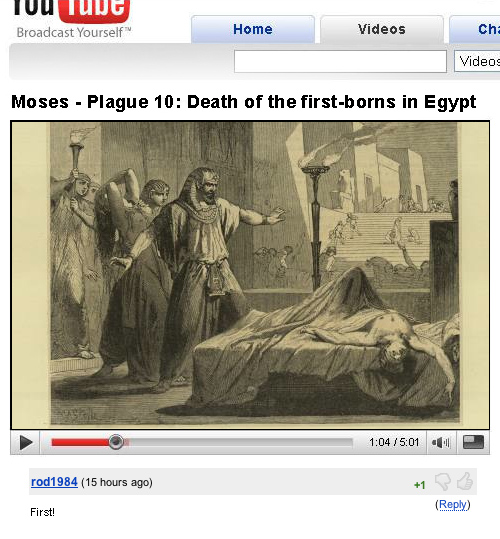 Moses and the 10 plagues of Egypt
