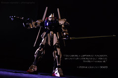 Gundam 0080 (B2Y4N) Tags: lighting stilllife anime robot nikon key low wing sword bernie gundam product d90 0080 strobist 18105mm b2y4n bryanrapadas
