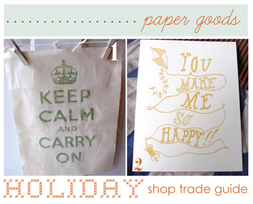 paper goods.