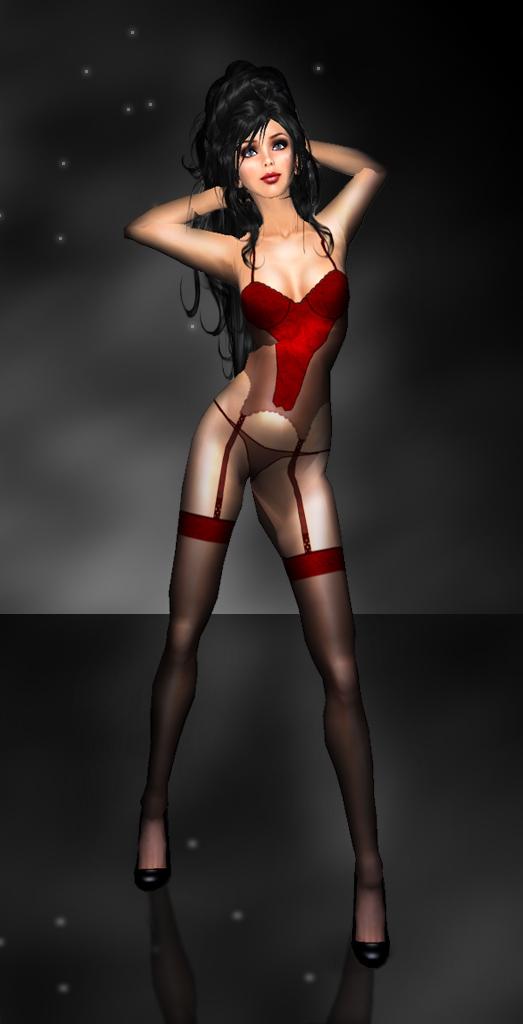 Angel Arwen Red by Angel Dessous