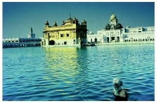 golden temple. sikh