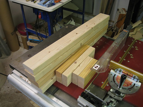 2x4 pieces for box frames