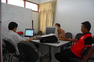 Auditors Discussing