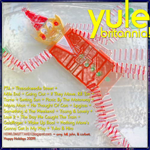 Yule Britannia! 2009 Holiday Mix (Back Cover)