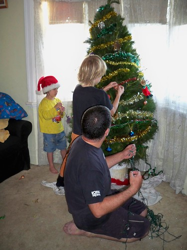 Decorating the tree18