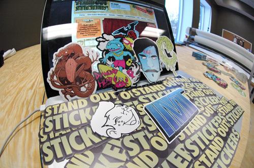 Custom Die Cut Stickers - StandOut Stickers