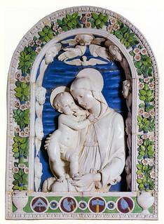 Andrea della Robbia, Madonna col Bambino, detta
