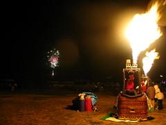 2009 023 (Futoshi ) Tags: christmas glow balloon hana aso 2009
