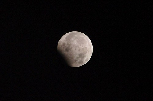 Partial eclipse of New Year's Day 2010 #2