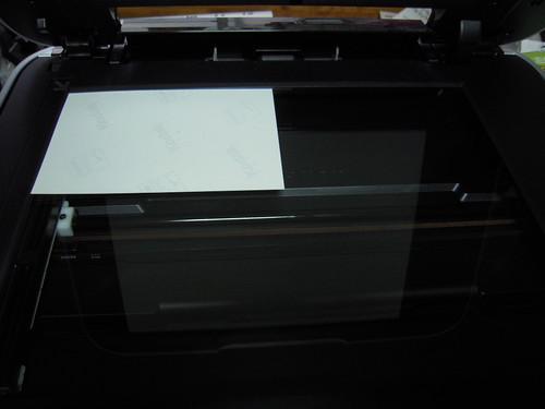 キヤノンPIXUS MP640 スキャナー