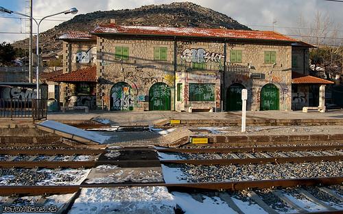 La estación de Adif en Zarzalejo