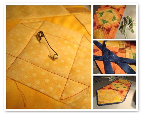 Quilting and Binding--Shoofly in Process