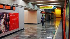 Una escala en el viaje subterrneo (laap mx) Tags: underground subway mexico mexicocity df metro 169 ciudaddemexico distritofederal