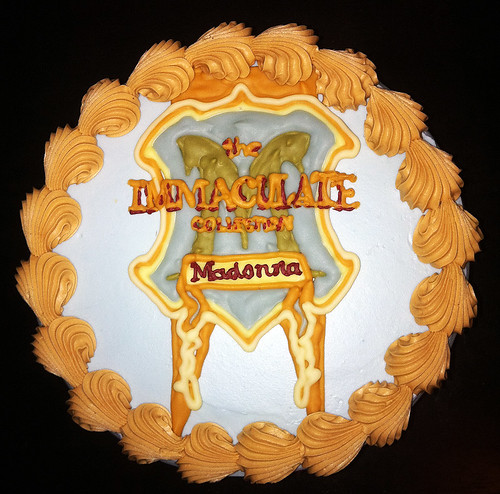 "Madonna ""The Immaculate Collection"" Album Cover Birthday Cake by Tony ""Tone Tone"" Albanese"