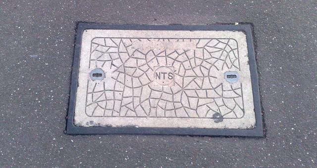 NTS (Myki) manhole cover
