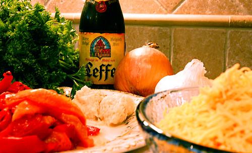 Horseradish Cheddar Beer Soup Ingredients