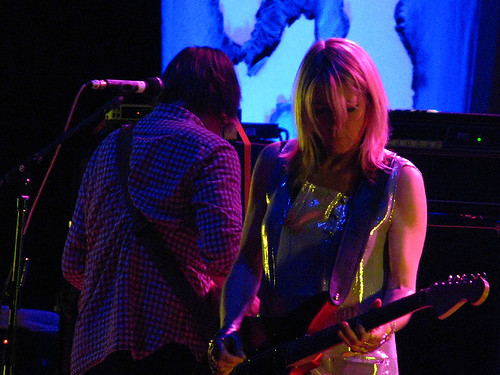 Sonic Youth @ Massey Hall: photo by Michael Ligon