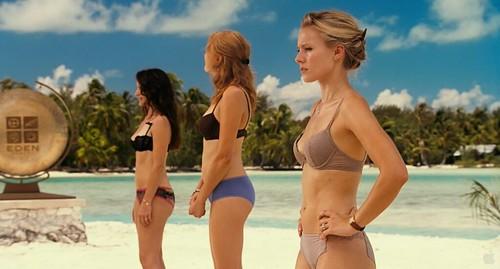 Kristin Davis, Malin Akerman, y Kristen Bell
