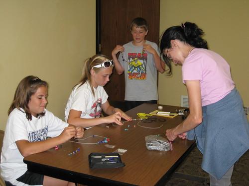 Teen Jewelry Making 04