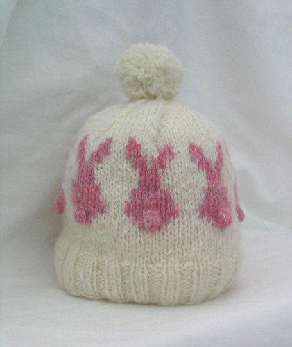 Pink Rabbit Hat