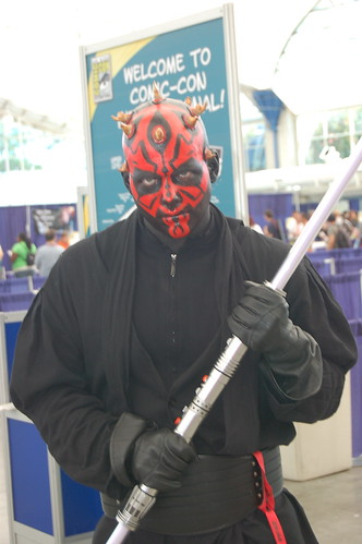 Comic Con 2009: Darth Maul