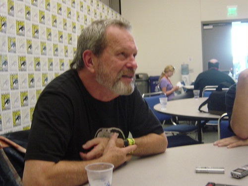 Terry Gilliam sits down