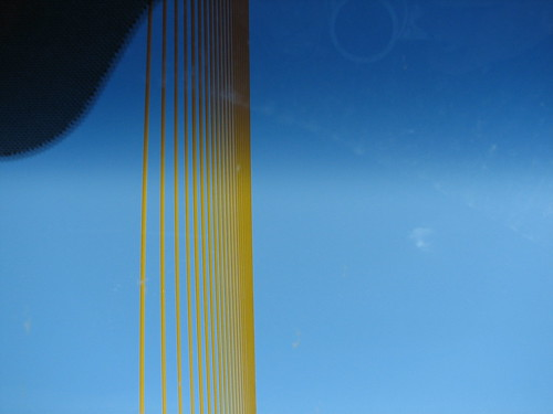 the top of the Sunshine Skyway Bridge