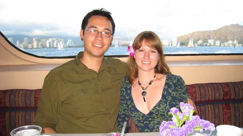 Waikiki behind us