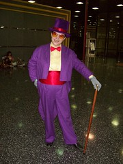 The Warden from Superjail at Chicago Comic-Con 2009
