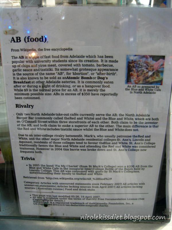 AB food info