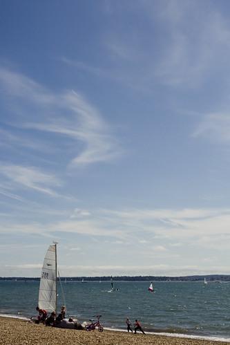 Stokes Bay, Looking East