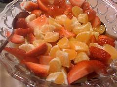 Dinner... (irrational_cat) Tags: food fruit salad berries strawberries citrus fruitsalad
