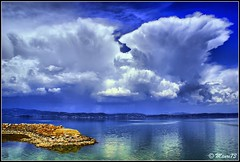 StormClouds in Trasimeno Lake ITALY - HDR Eye-catching (doctormauri73 - amateur photographer) Tags: blue friends sky italy lake seascape nature water beautiful rain clouds lago interestingness high italia dynamic sony group dream canvas explore national scream estrellas nights 100 alpha dslr a200 range hdr geographic umbria comment stormclouds cloudscapes trasimeno 1001 terrific eyecatching blueribbonwinner colorphotoaward flickrelite skyascanvas yourcountry 100commentgroup alfamount flickrunitedaward thebestofcengizsqueezeme2groups
