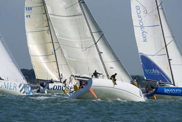 Class40 Worlds d1 Off the start cc Mike Jones PIKE PICTURES by wwwCowesOnlinecom