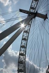 London Eye 5 (Billy Bojangles) Tags: england sky holiday london eye wheel big londoneye embankment grouptripod