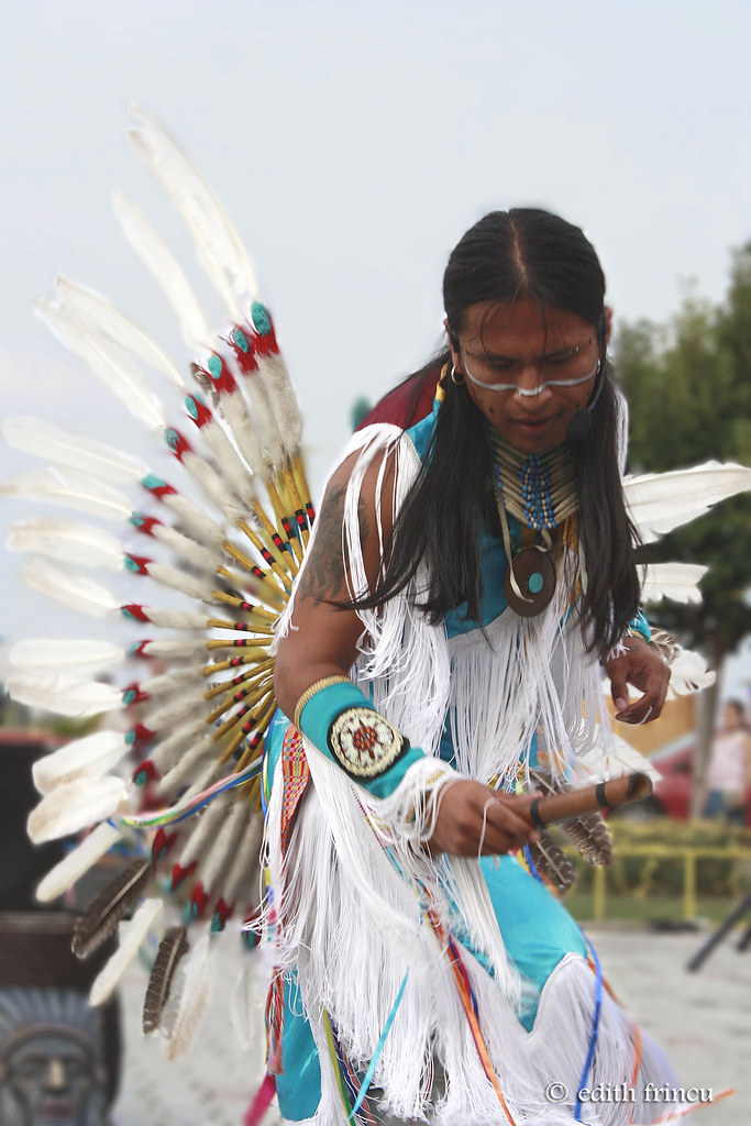 Native american performer