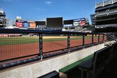 New York Yankees Dugout (mbell1975) Tags: park new york nyc usa ny newyork baseball stadium bronx american yankee yankees dugout league mlb