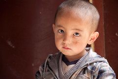 (BIGZEN) Tags: portrait children bigeyes gansu